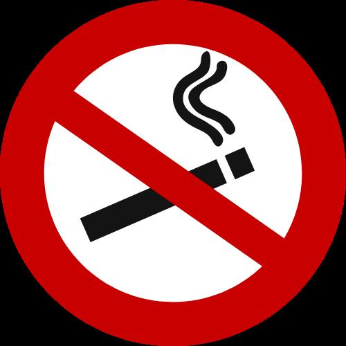 detección por fumar