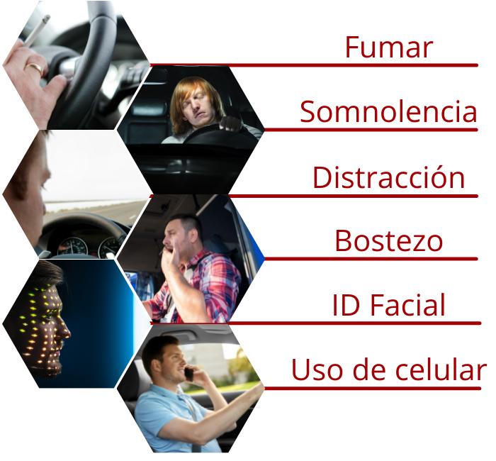 sistema de monitoreo de conductor
